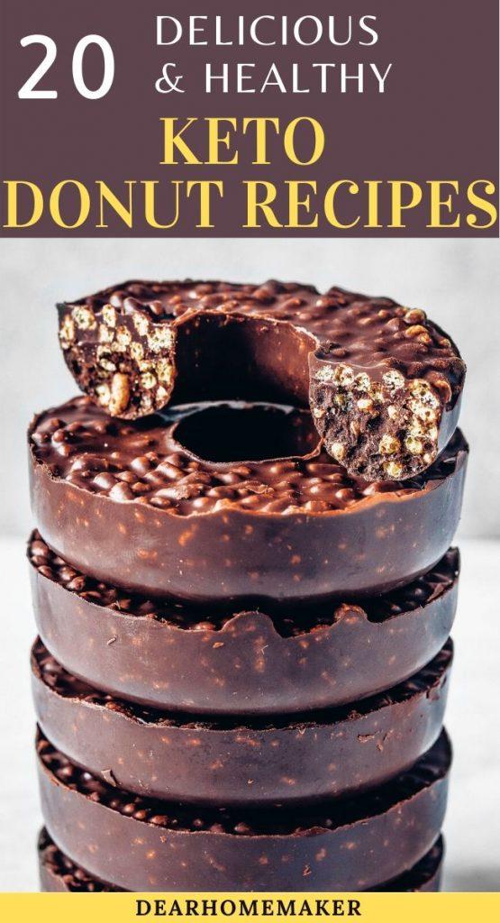 20 Keto donuts recipe