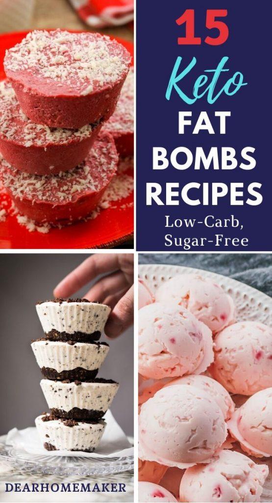 15 delicious keto fat bomb