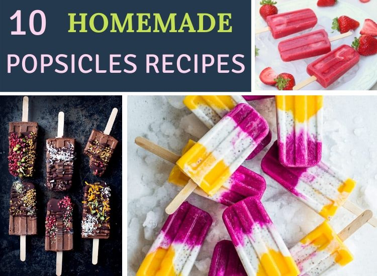 10 refreshing popsicles