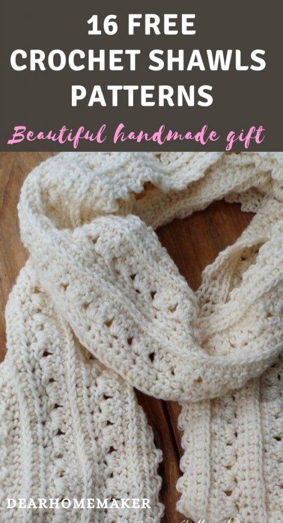 16 Free Crochet Shawl Patterns