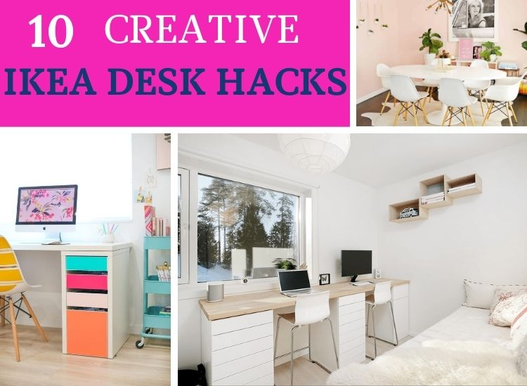 10 Fun IKEA Desk Hacks
