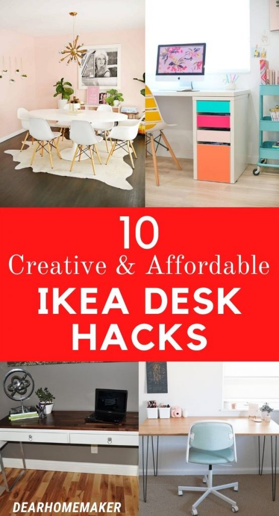 10 Creative Ikea Desk Hacks