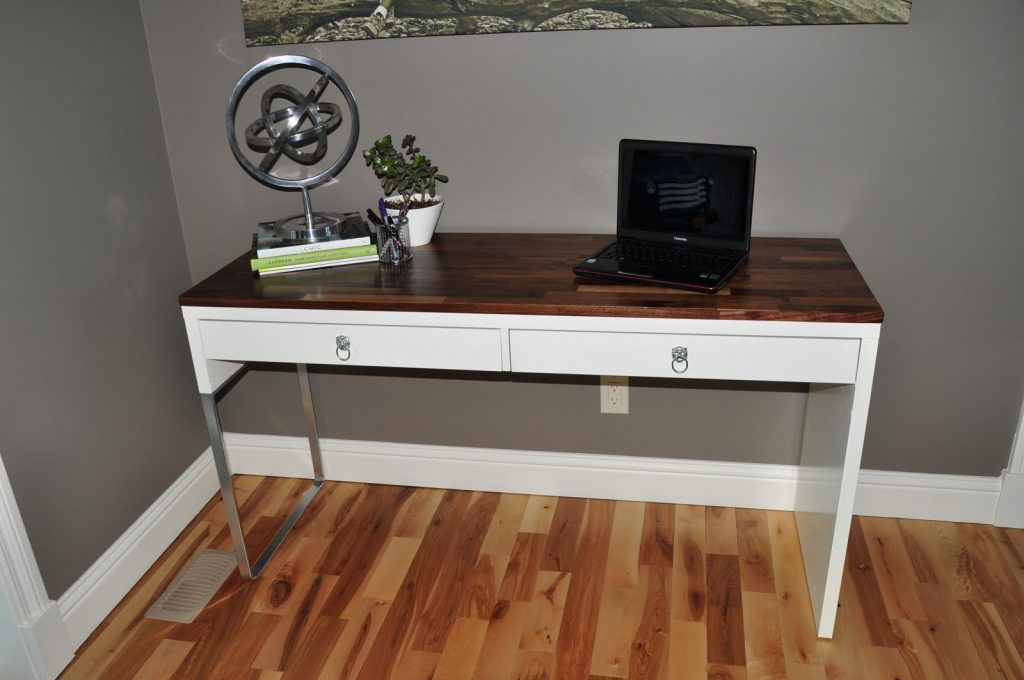Ikea desk hacks