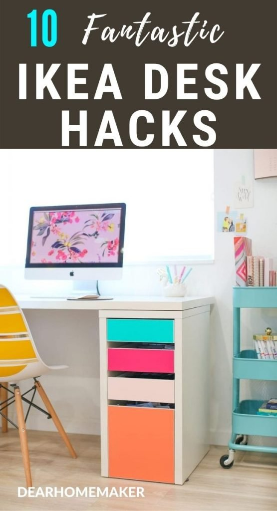 10 Best Ikea Desk Hacks