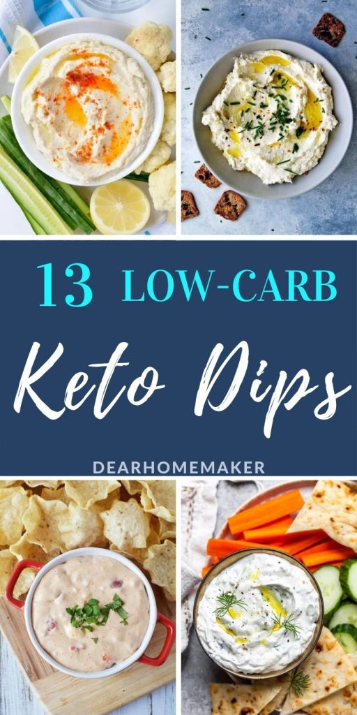 Low carb 13 keto dips