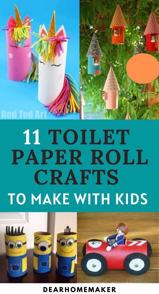 11 creative toilet roll crafts