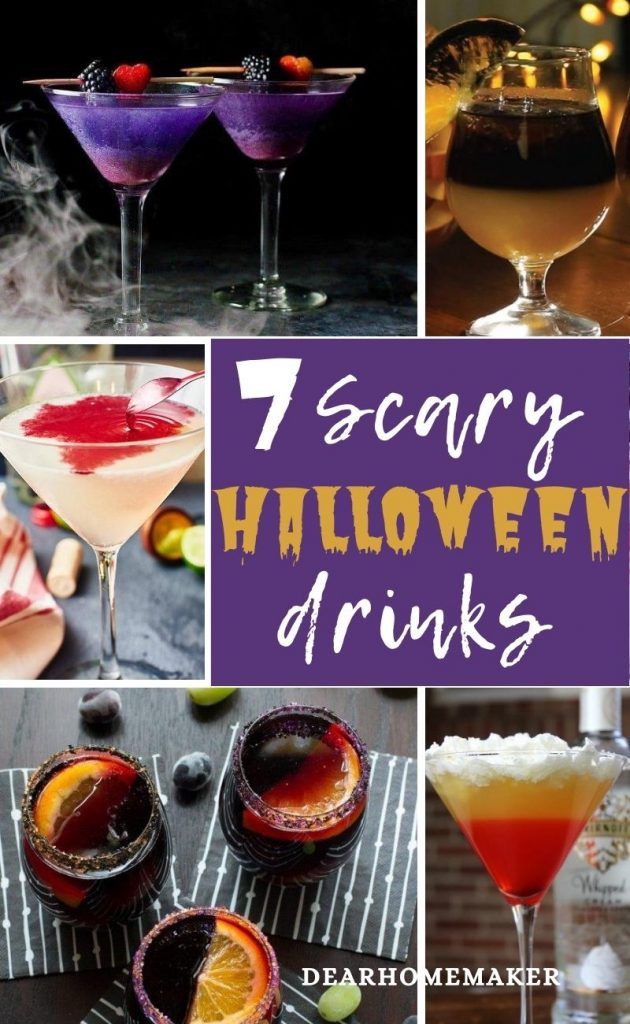 7 Devilish Halloween Cocktail drinks