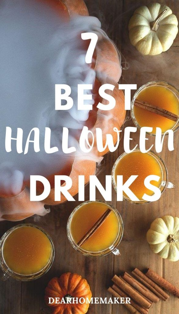 7 Best Halloween Cocktail drinks