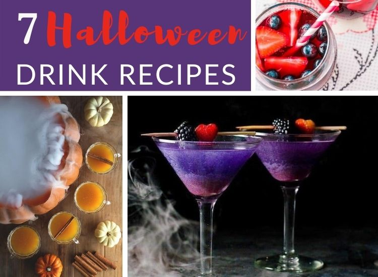 7 Scary Halloween Cocktail recipes