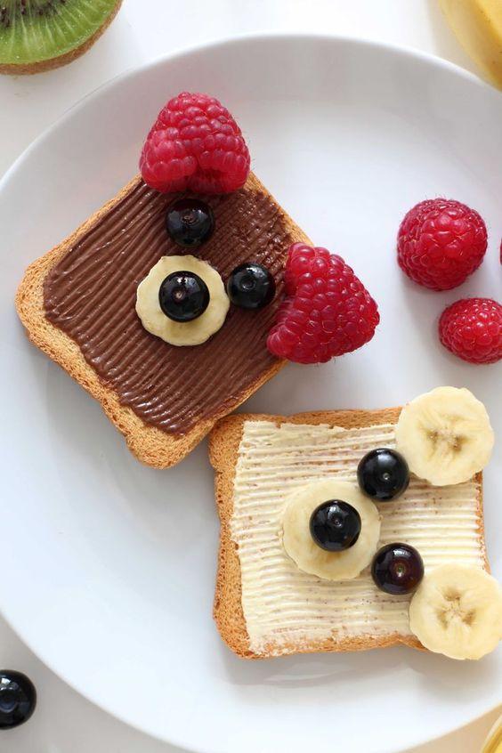 Fun breakfast Ideas- Bears