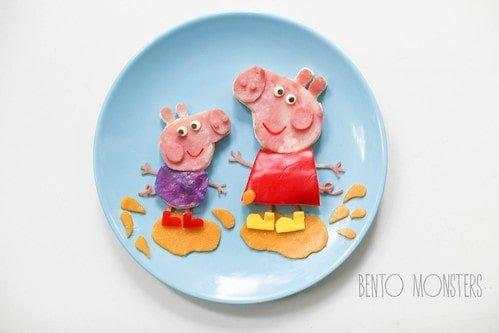 Peppa & George- Fun breakfast for kids