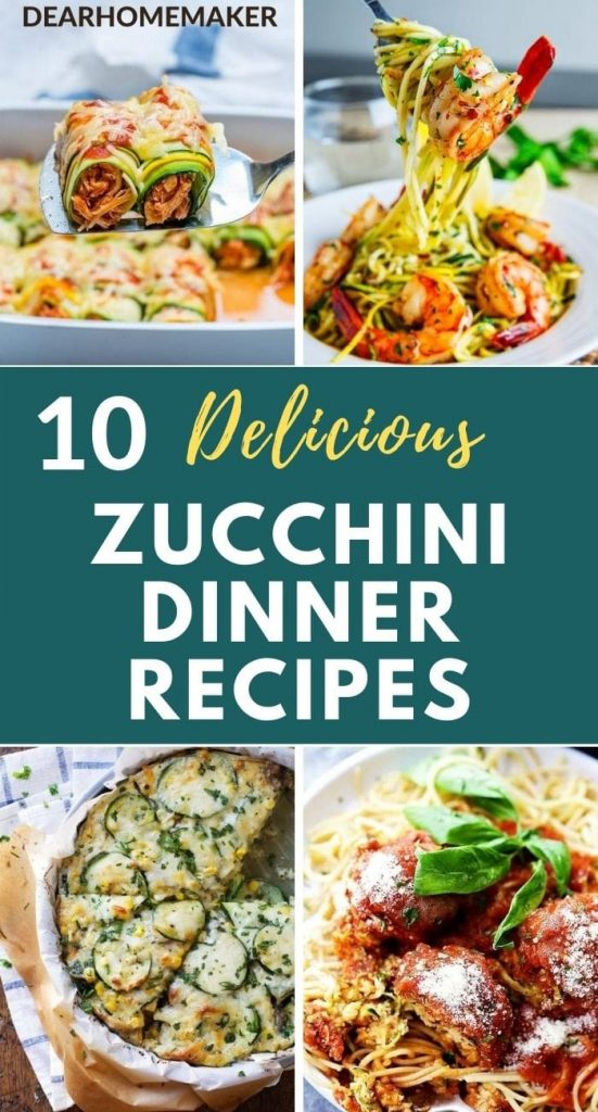 10 Popular Zucchini Recipes