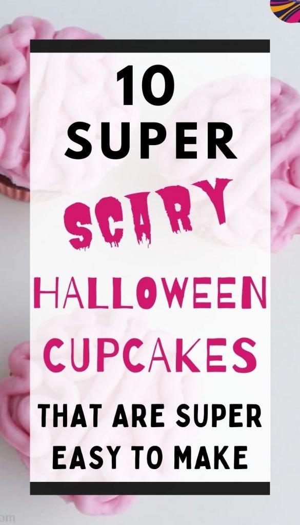 10 Spooky Halloween cupcakes