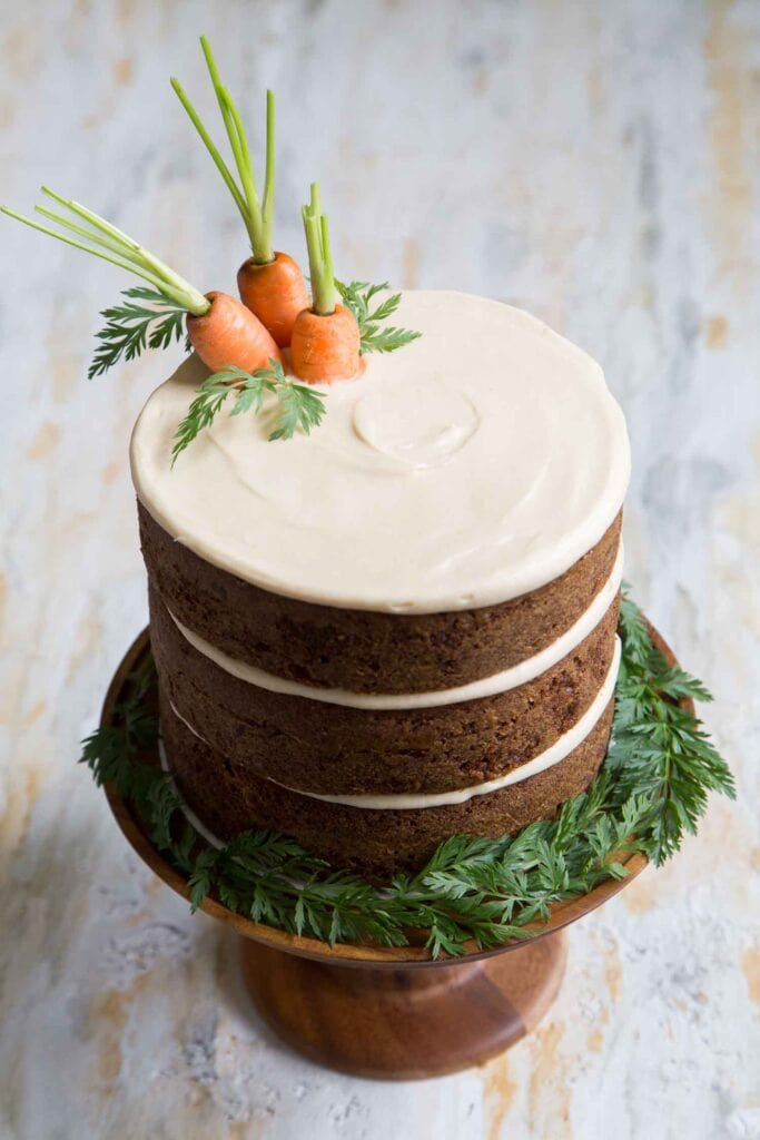 Carrot on the cake