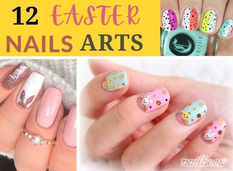 Easter Nail Arts