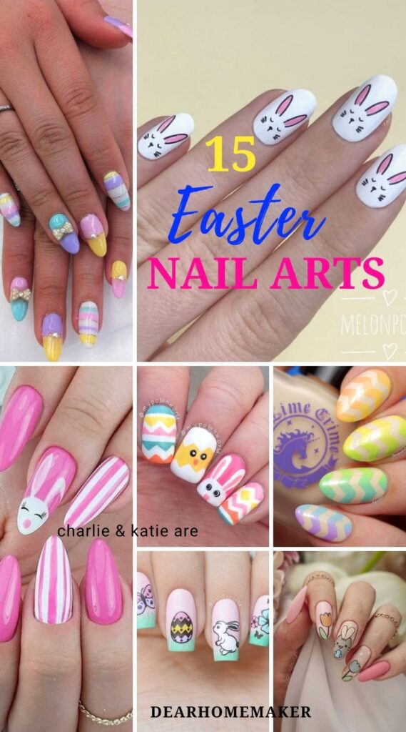 12 Easter Nail art designs
