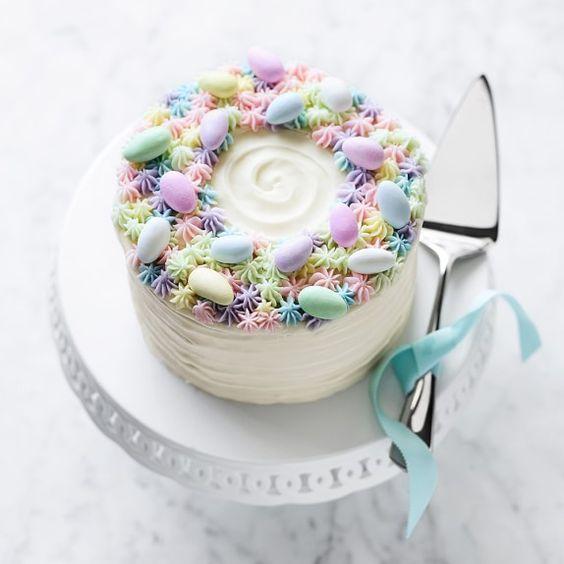 Elegant Easter cake idea