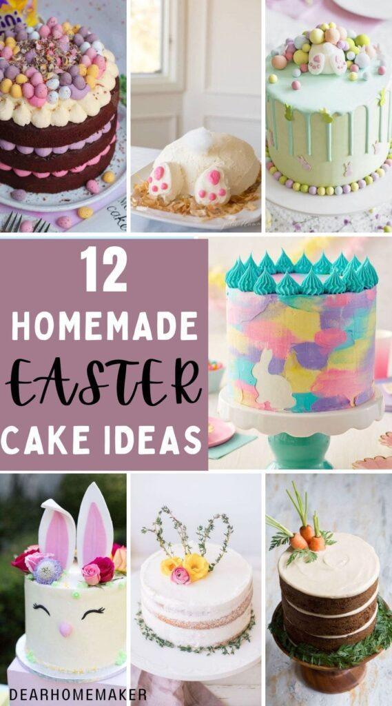12 Easy Easter Cake Ideas