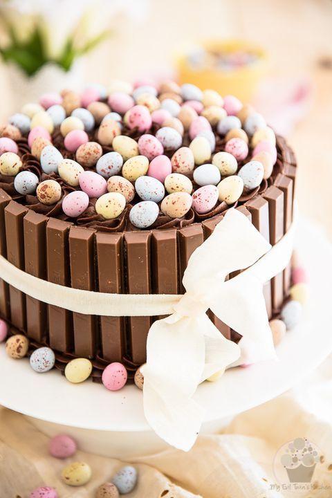 Kitkat Easter Egg Cake