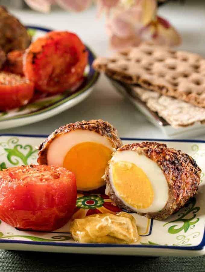 Air Fried Scotch Egg