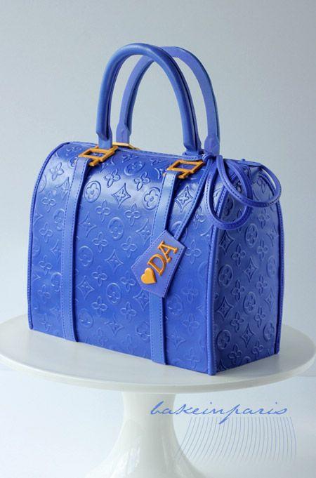 Blue Bag Cake