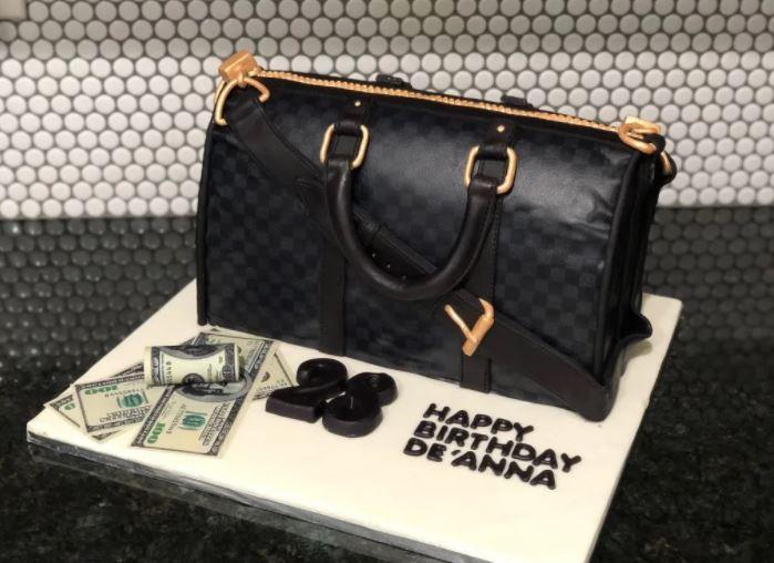 Duffle Bag cake