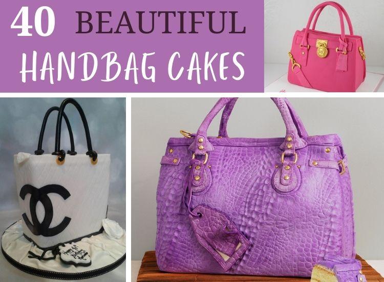0 Beautiful Handbag Cakes