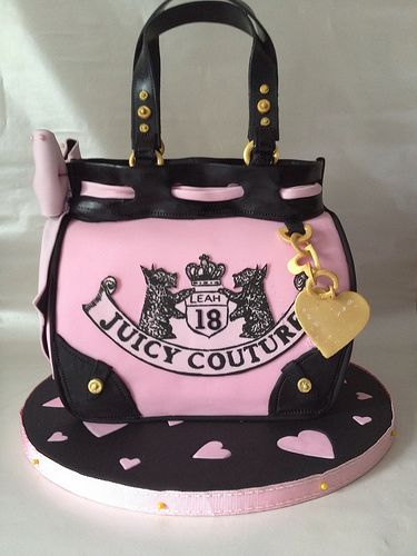 Juicy couture Bag cake