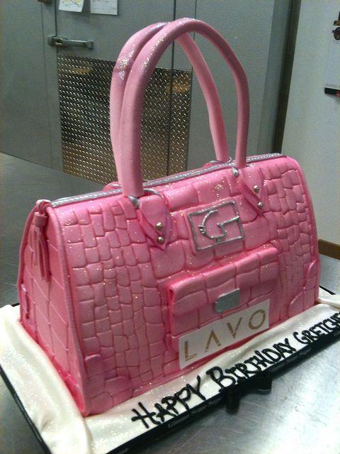 Metallic Pink Cake