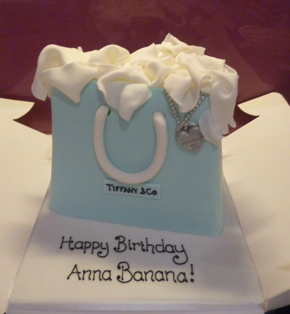 Pretty handbag cake