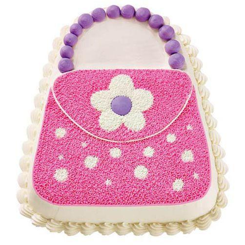 Daisy Purse cake