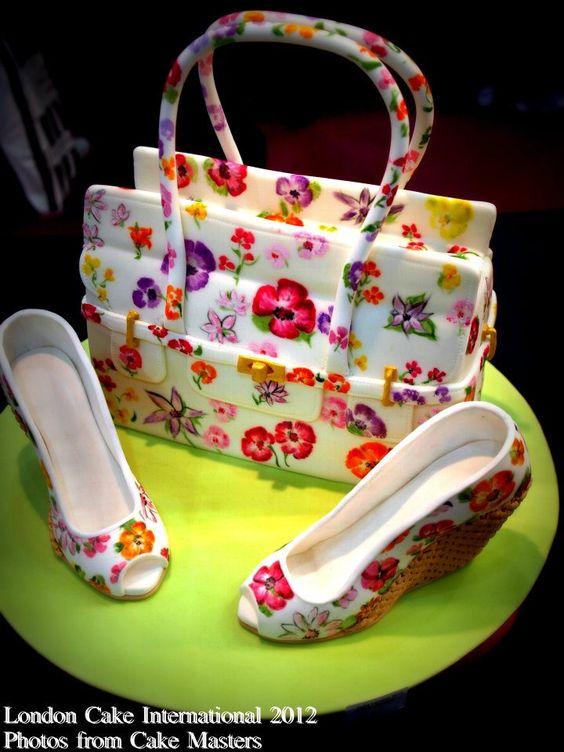 floral Bag cake