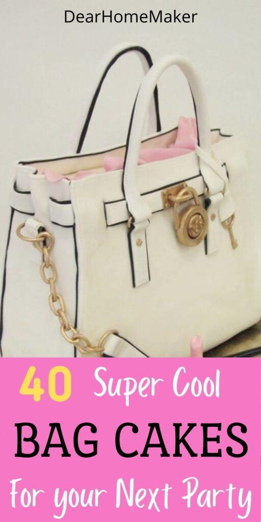handbag Cake designs